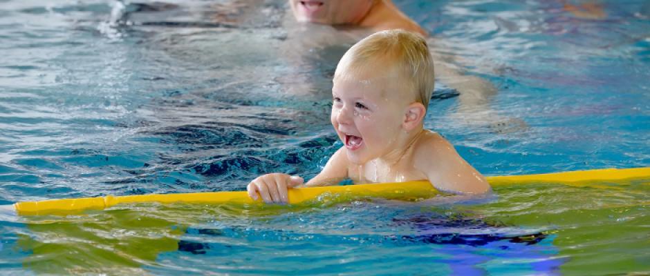 zwemmen baby wanneer